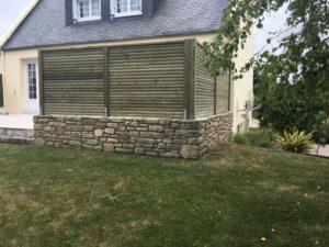 Palissade-Pin-Sylvestre-Traité-Classe-4-Vert-3-300x225