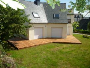 Terrasse Garapa, Chantier sur Brest