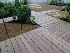 Terrasse Ipé avec fixations invisibles, Chantier sur Bégard (3)